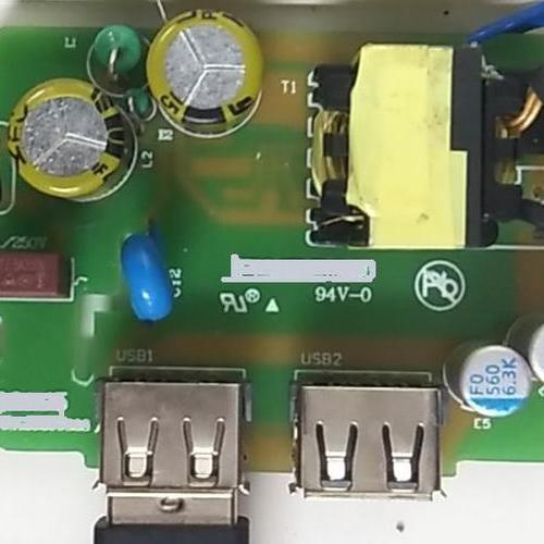 15W(5V/3.1A) 智能插座方案