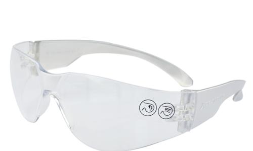 代尔塔护目镜101118 舒适型安全护目镜 太阳镜 防冲击防刮擦 机械木料加工防护眼镜 透明101119