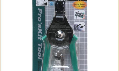 宝工(Pro'skit) CP-246(2.5-4-6mm)太阳能自动剥线钳