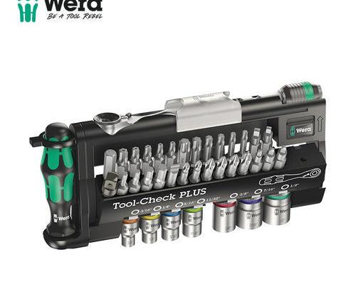 维拉/WERA  用于狭窄作业空间Tool-Check PLUS组套  迷你棘轮扳手套筒批头套装05056490001