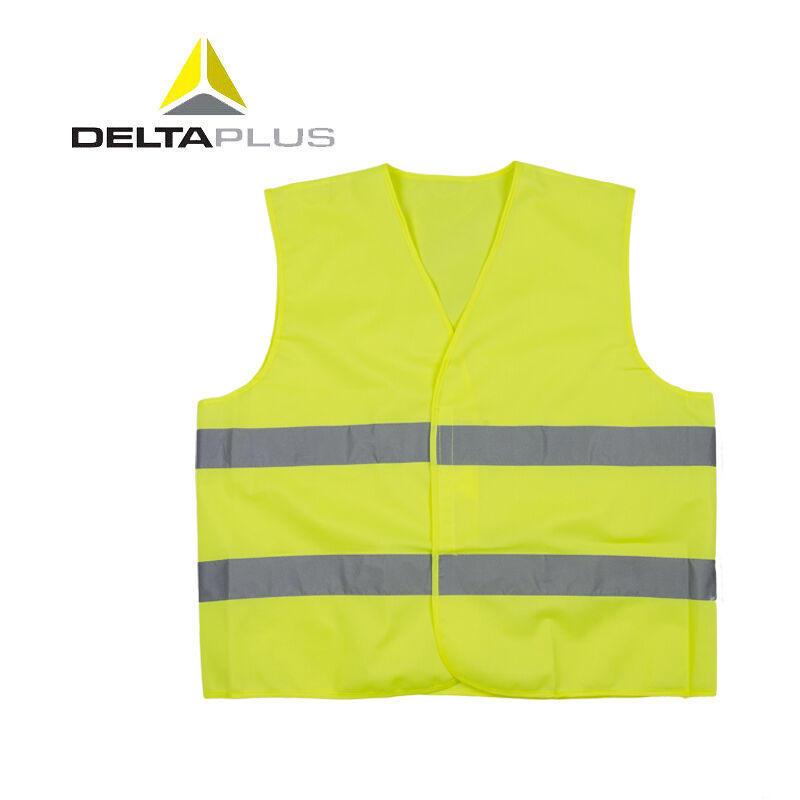 代尔塔反光背心反光马甲  黄色