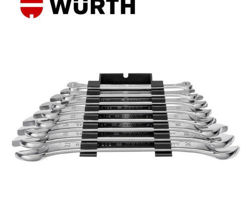 伍尔特WURTH 071330440 双开扳手组套-8PCS-(WS6-22)