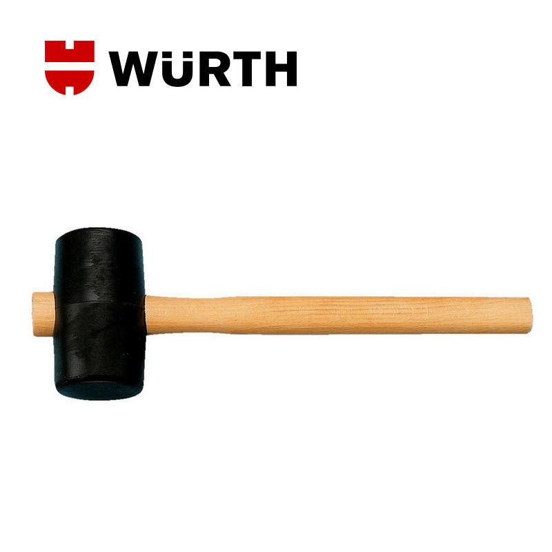 伍尔特(WURTH)071573408 橡皮锤-DIN5128-A-D65MM 橡胶锤 安装锤 皮榔头