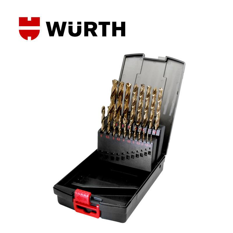 伍尔特(WURTH)0617400001 含钴高速麻花钻组套-DIN338-HSCO-