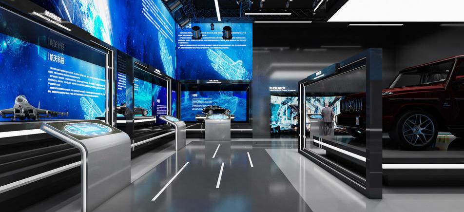康硕集团企业展厅