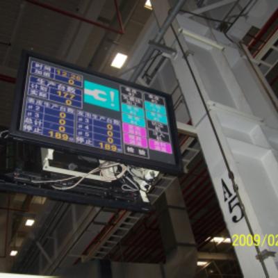 天津第2第3、广州第1第2、長春「丰田汽车」 行灯・生産指示系统配线