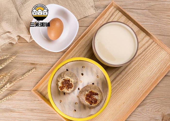 早安套餐1:烧麦2只+白煮蛋+豆浆