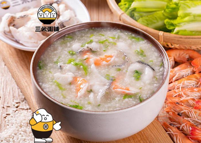 深海鱼片粥