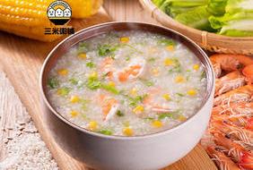 玉米虾仁粥