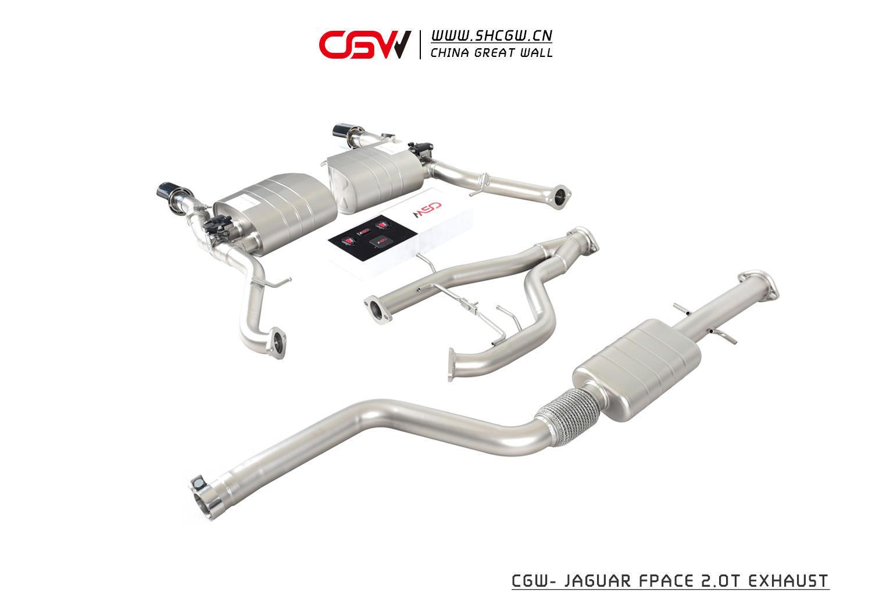 捷豹 F-PACE/E-Pace/F-type 系列排气