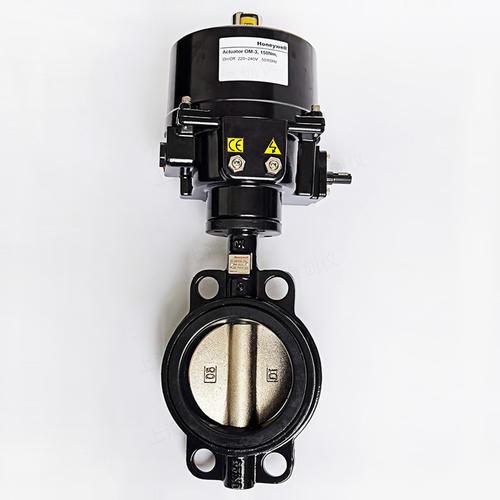 蝶阀V4ABFW16-200-150-125U 开关型蝶阀执行器OM-3
