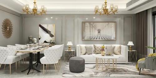 美式轻奢  ▏打造恰到好处的优雅美式空间!