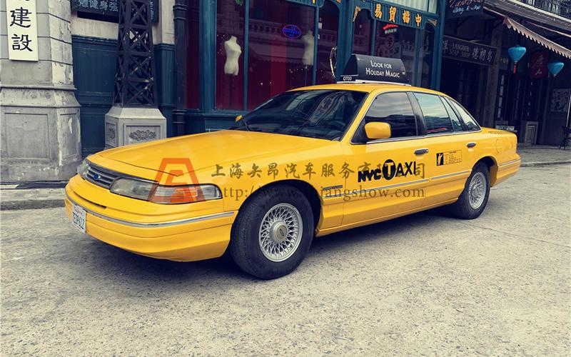 老爷车出租-福特美式出租车