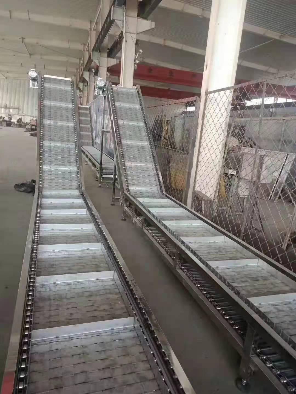板链式提升输送机