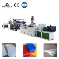 PVC自由发泡板生产线