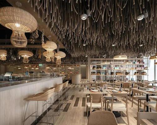 异国风情餐厅设计装修方案--顺外建设