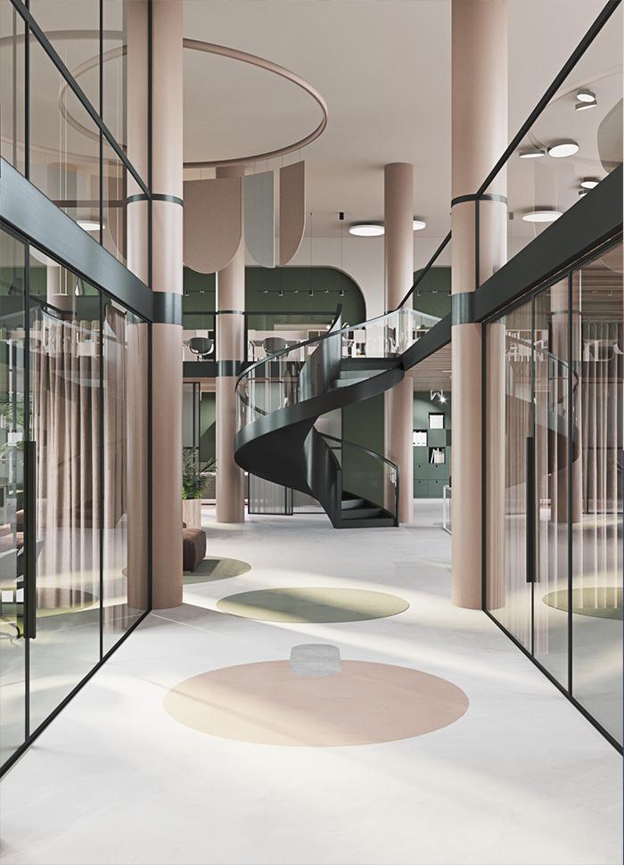 现代化办公室设计