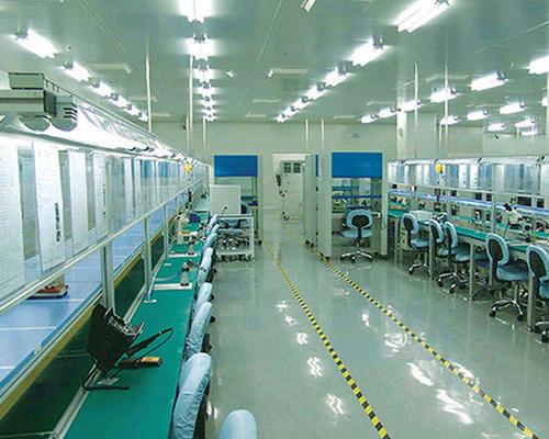 电子工厂厂房装修