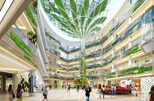 天津景觀樹裝飾PTFE膜結構工程