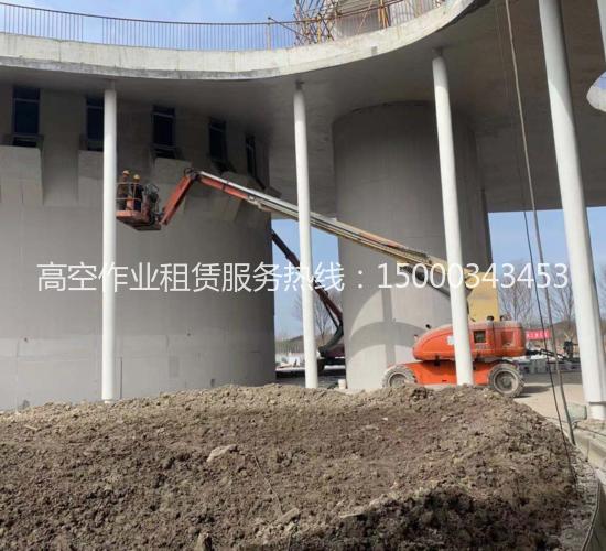 高空作业车高架施工
