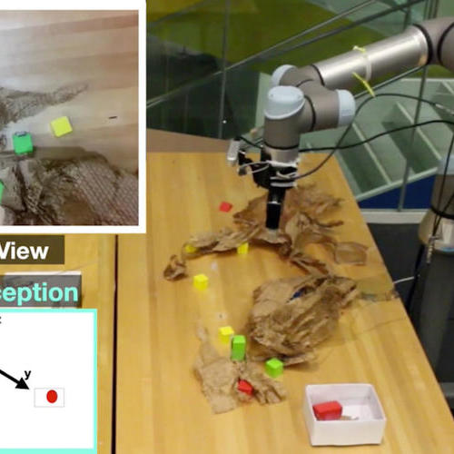 射频识别系统有助于机器人抓住隐藏的物体
