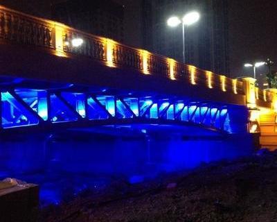 产品名称松江商务区桥梁灯光