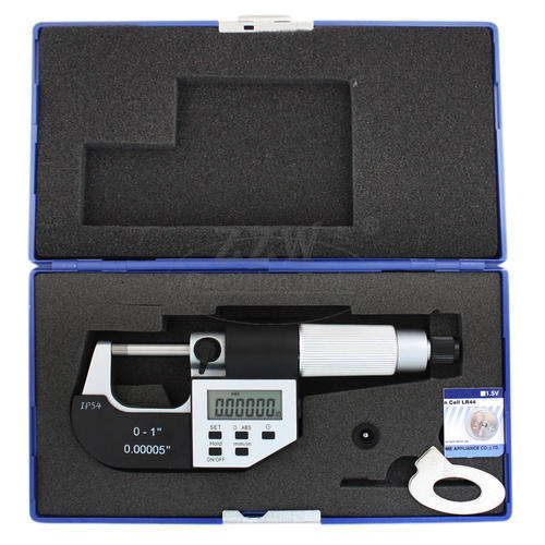 Electronic Digital Outside Micrometer,5 Keys, IP54