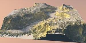模型制作公司如何制作山體模型